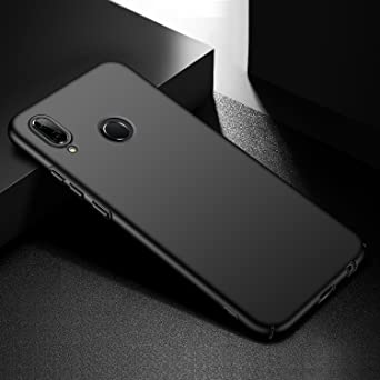 Amazon.com: Avalri Huawei P20 Lite Case, Huawei Nova 3E Case, Ultra Thin Anti-Fingerprint and Minimalist Hard PC Cover for Huawei P20 Lite (Silky Black): ...