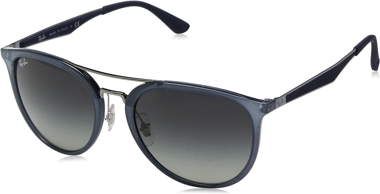 RAY-BAN 4285 Gafas de sol, Marrón, 55 para Hombre
