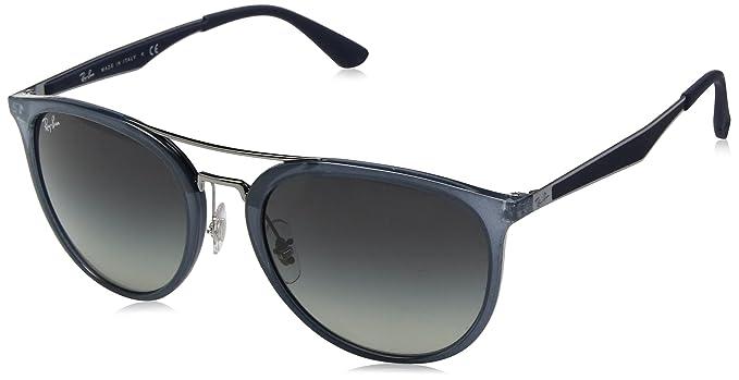 RAY-BAN 4285 Gafas de sol, Marrón, 55 para Hombre: Amazon.es ...