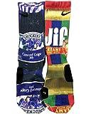 Custom Nike Elite Peanut Butter and Grape Jelly Socks