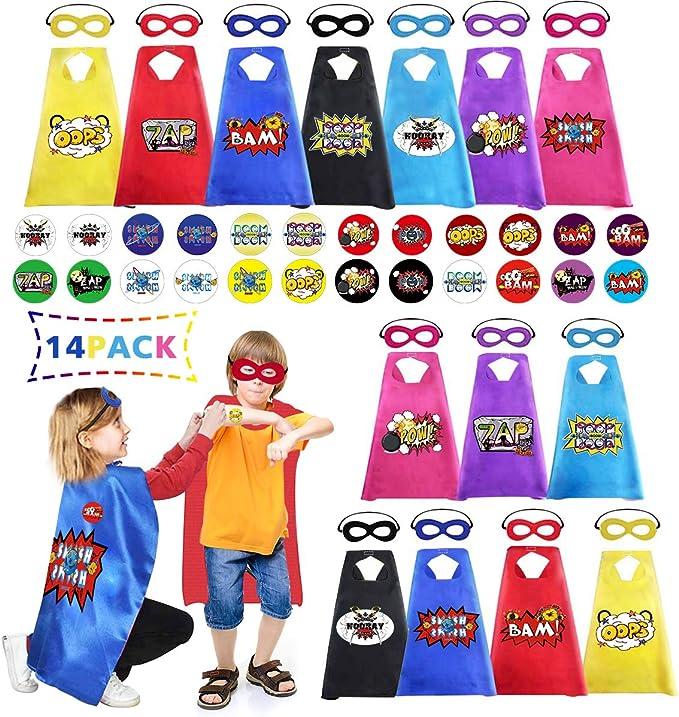 Amazon.com: Capas y máscaras para niños, paquete a granel ...