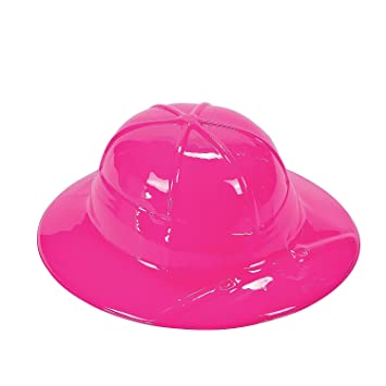 Amazon.com  Child¡®s Pink Safari Pith Helmets  Health   Personal Care 5aded9d8a9b