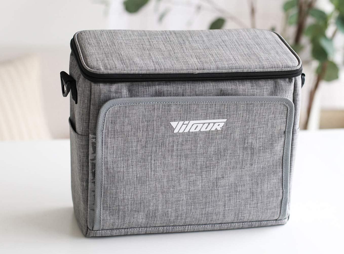 BingooPan Car back seat organizer insulated and folded for vehicle and handle—cooler and warmed. Suitable for insulation organizer,ice bag,lunch bag,wine cooler carrier, Insulated Baby Bottle Bag etc.