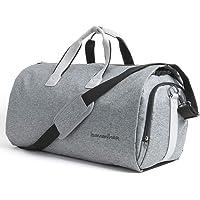 Bolsa de ropa convertible bolsa de viaje para viaje bolsa de viaje bolsa de viaje para viaje de negocios vuelo Gimnasio, gris, One_Size