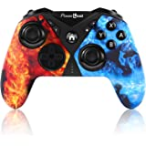Pro Controller for Switch, PowerLead Wireless Gaming Controller Six-axis Dual Vibration Gamepad for Nintendo Switch/PC…