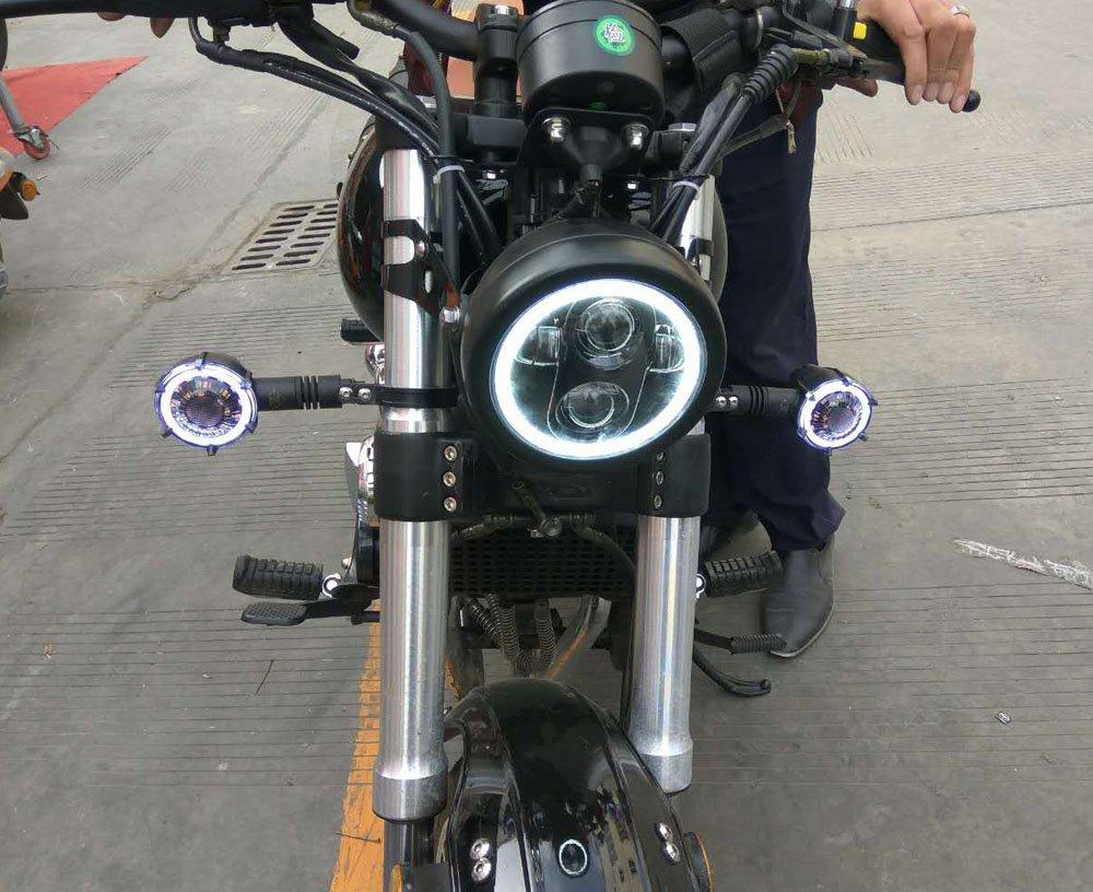 Chrome Headlight HOZAN 5.75 LED Headlight Bracket