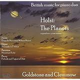 Elgar; Bury; Bainton; Holst: British Music for Piano Duo
