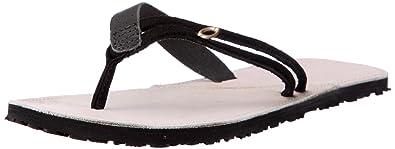 f09fb2bfd887dc Oakley PRECURSOR Flip-Flops Womens Black Schwarz (black stone 008) Size