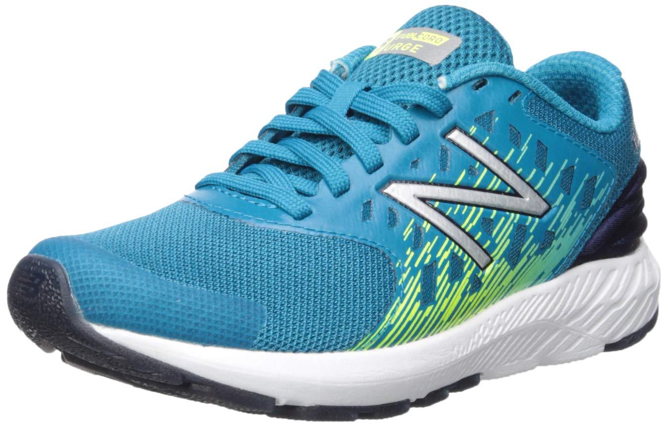 New Balance Boys' Urge V2 FuelCore Running Shoe, Ozone Blue/hi lite, 5 M US Big Kid