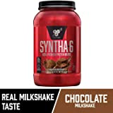 BSN Syntha 6 Protein Powder, Chocolate, 1.32 Kilograms