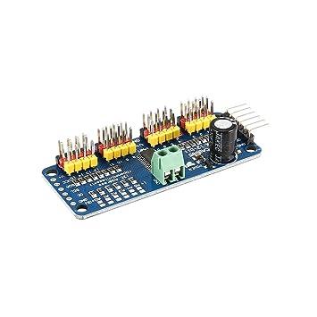 PCA9685 12 bit 16 Channel PWM Servo Motor Driver I2C Module for