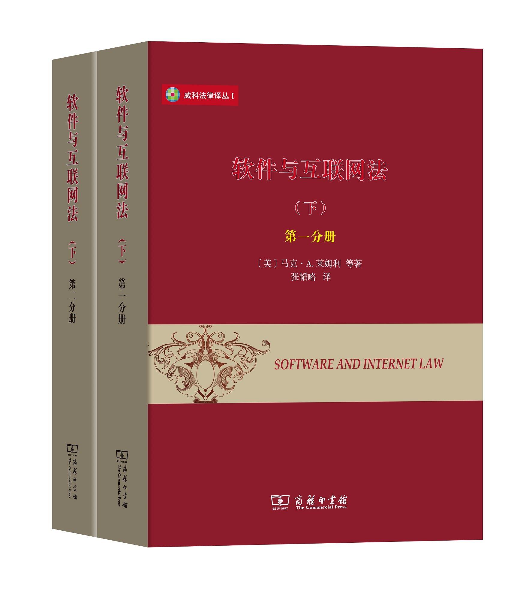 Download 威科法律译丛1:软件与互联网法(下 套装1-2册) pdf epub