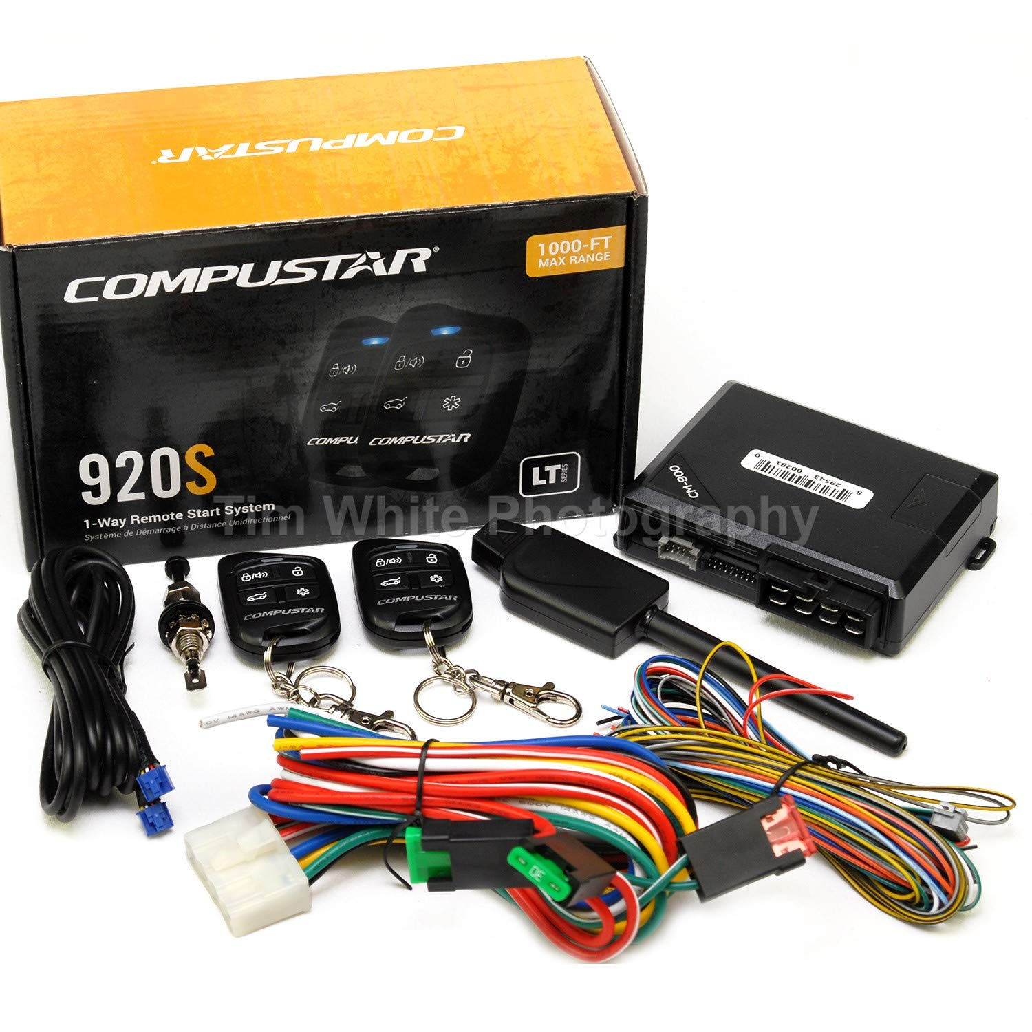 Amazon.com: Compustar CS920-S (920S) 1-way Remote Start and Keyless Entry  System with 1000-ft Range: Automotive