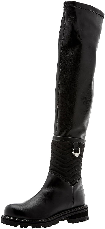 Twin Set Ca7tb7, Botas de Equitación para Mujer Negro (Nero 00006)