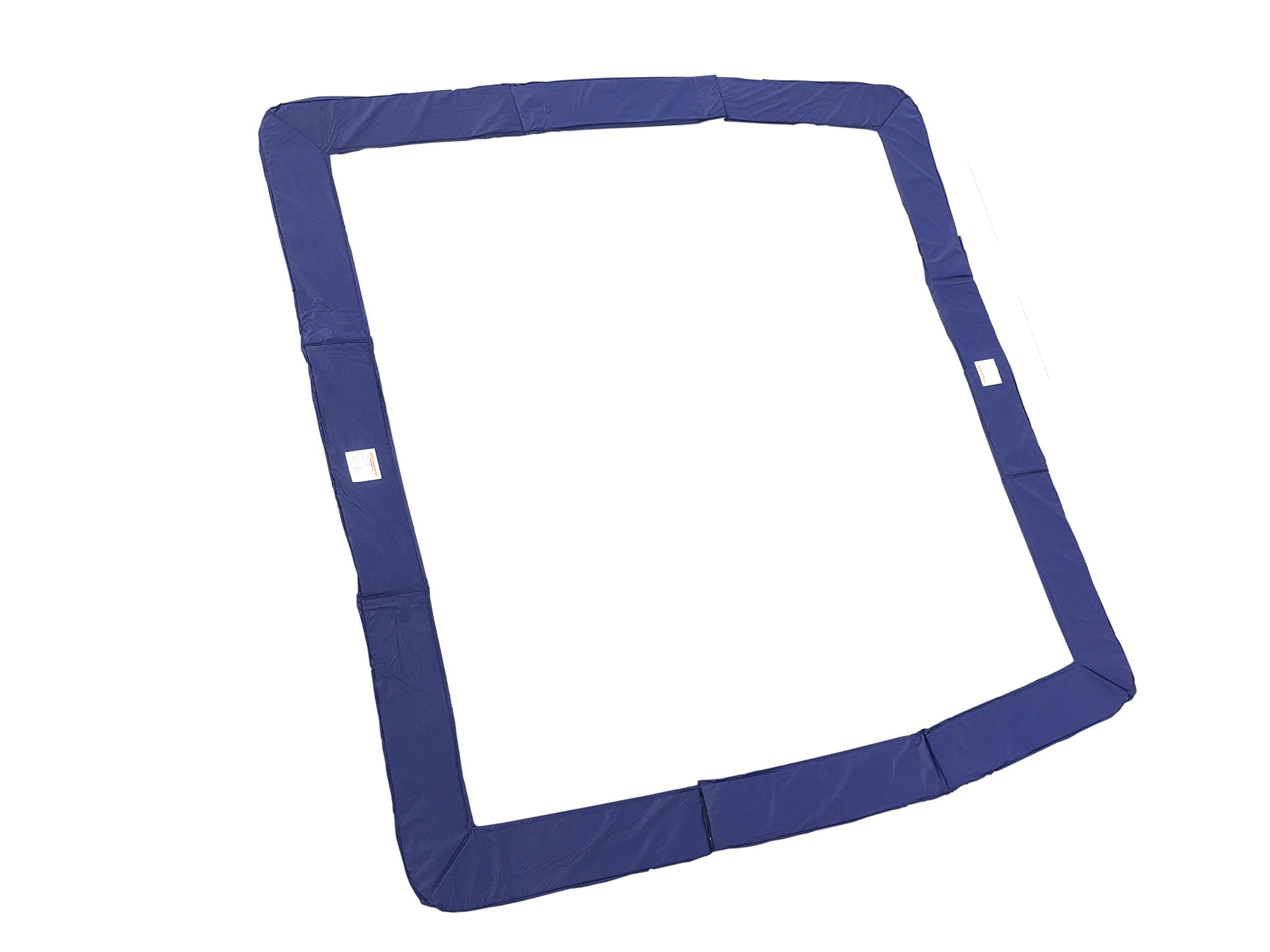 Trampoline Pad Blue Square 13 ft x 13 ft | Fits Skywalker 13 ft x 13 ft Frames | Pad Only by Trampoline Pro