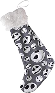 JANBOR Nightmare Before Christmas Stockings, 21 Inch Lovely Kids Christmas Stocking Hanging Stocking Perfect Decoration for Holiday Xmas Party Decor