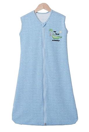 100/%BAUMWOLLE Sommerschlafsack Baby Kind Schlafsack Sommer Fußsack Schlafanzug