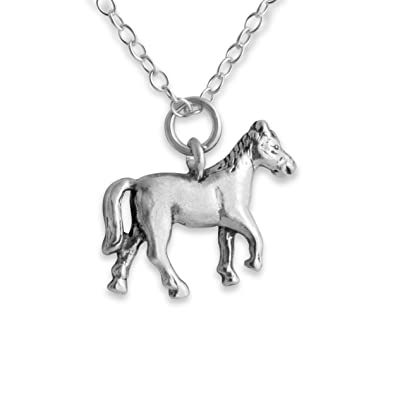 Amazon 925 sterling silver small trotting stallion horse pendant 925 sterling silver small trotting stallion horse pendant mozeypictures Gallery