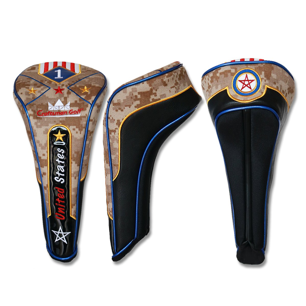 Craftsman Golf Artesano Golf camuflaje cabeza de palo de ...