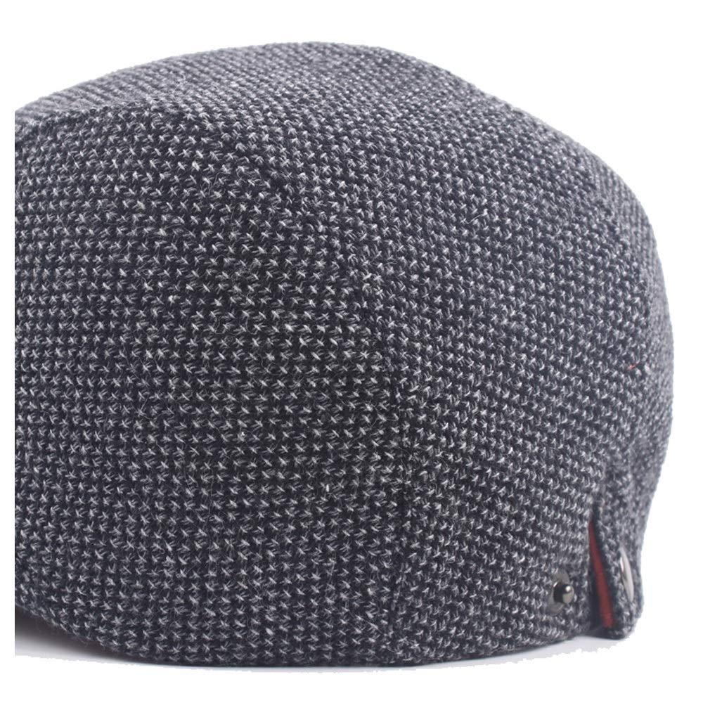 Yhuisen Leisure Beret Cap Autumn Spring Wool Ladies Fashion Mens Wool Knitted Breathable Cap