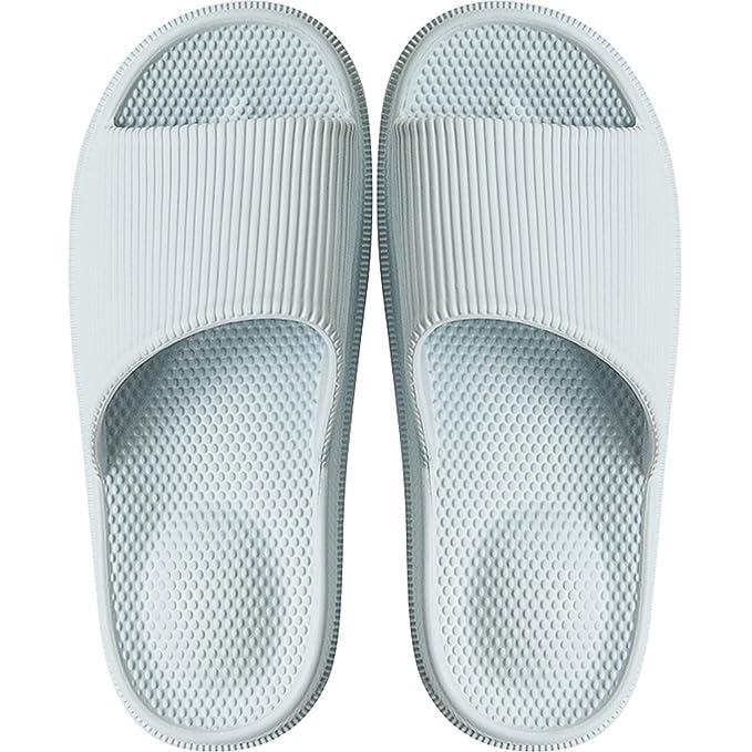 f696f1fce2d527 INFLATION Bath Slipper Women Men Non-Slip Feet Massage Unisex Shower  Sandals Indoor Anti-