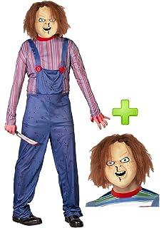 Close Up Bride of Chucky - Máscara de la muñeca: Amazon.es ...