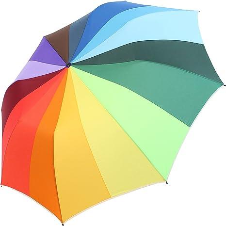 iX-brella strong class - Plegable multicolor arcoiris 124 cm