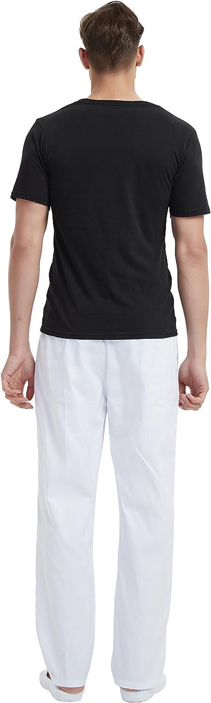 Pantaloni da Infermiere Nuovo miglioramento BSTT Uomo Uniformi Sanitarie Pantaloni Medical