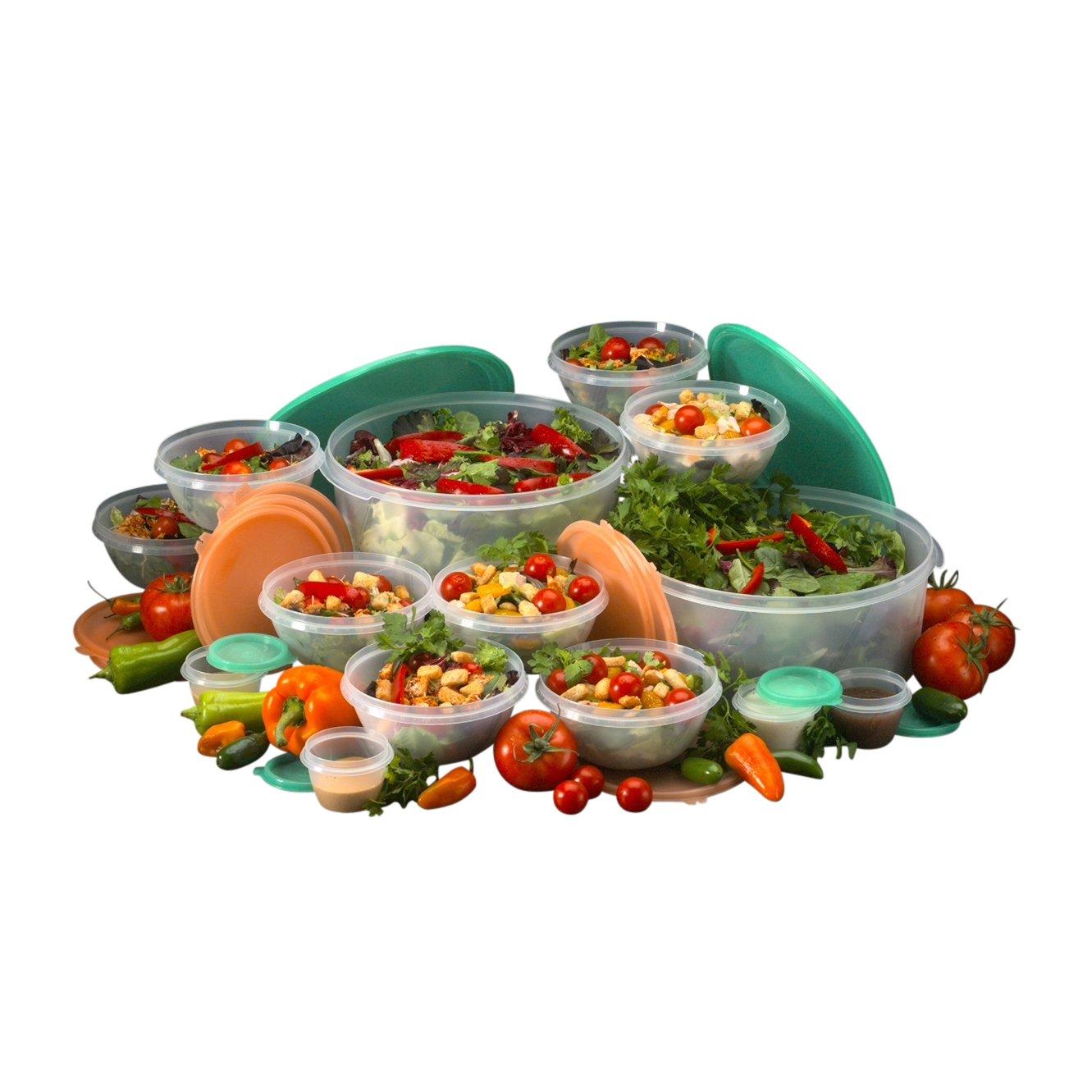 Fresh Keeper 28-Piece Salad Server Set