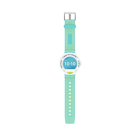 Alcatel SM03-WH - Reloj Inteligente con Bluetooth, Color Blanco Celeste