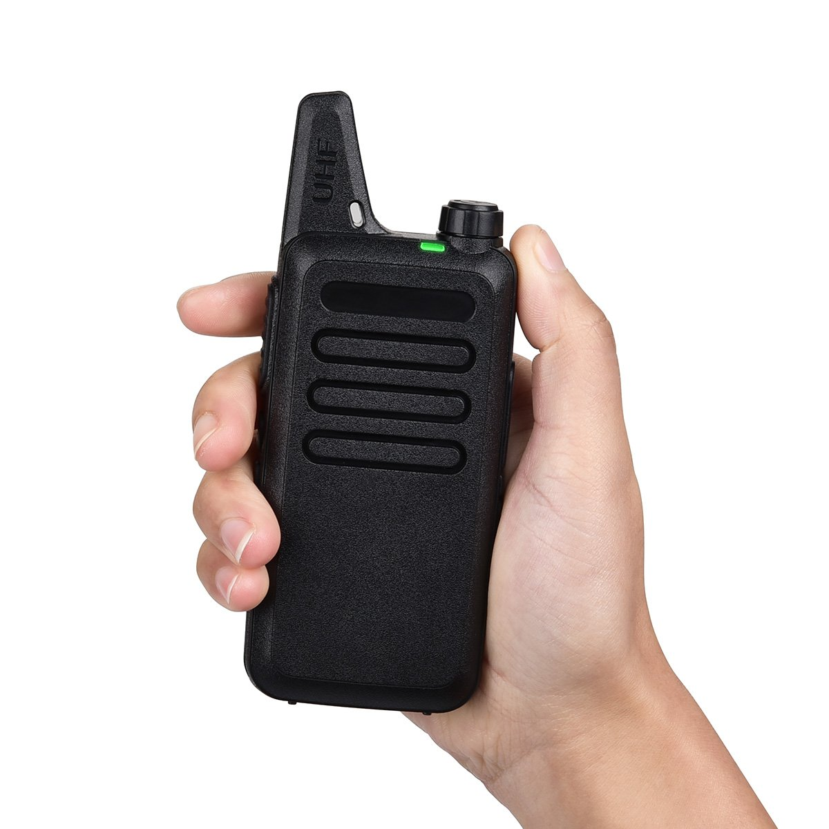 Swiftion Rechargeable Walkie Talkies for Hunting Long Range 2 Way Radio Walky Talky Rechargable Professional interphone for Trave for Police 16 Channel 2 Way Radios with Charger (Pack of 2) by Swiftion (Image #6)