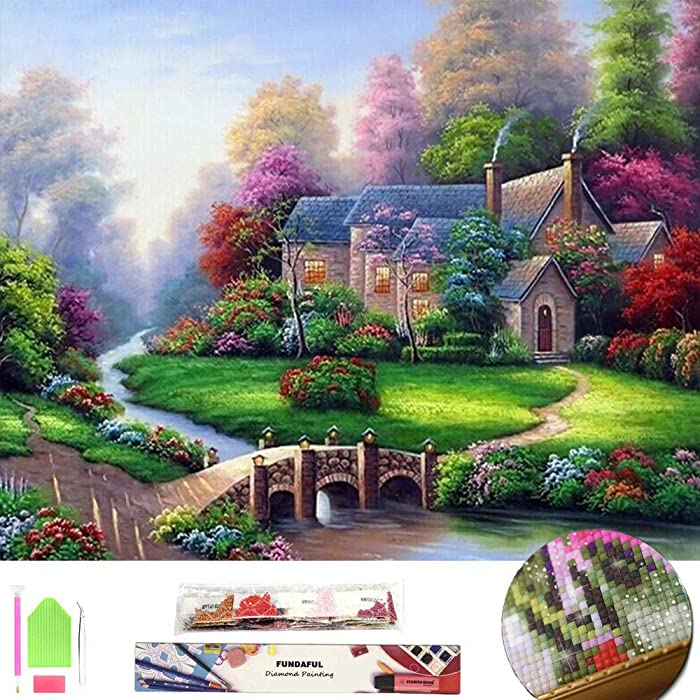 Top 9 Diamond Painting Full Drill Home Scenery