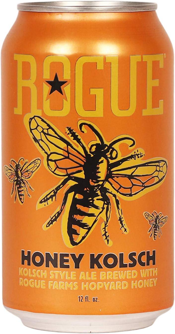 Cerveza Rogue Honey kolsch 35,5cl LATA PACK 6UNIDADES