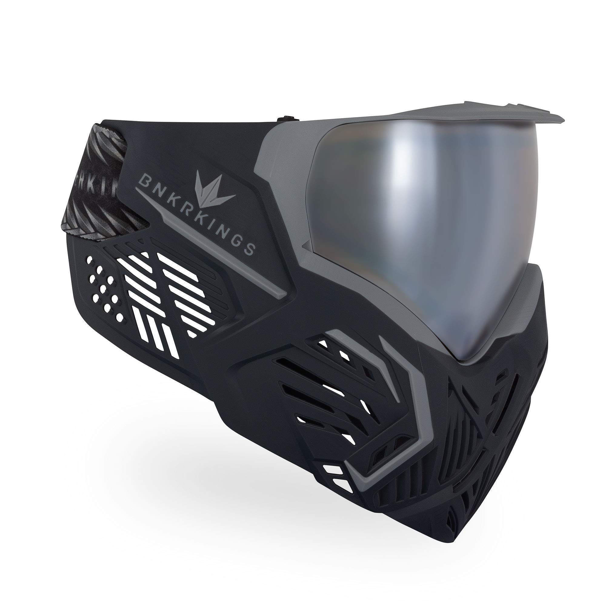 Bunker Kings CMD Paintball Goggle/Mask - Black Panther by Bnkr Kings