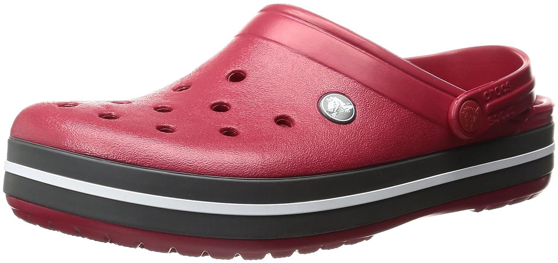 crocs Unisex Erwachsene Crocband Clogs Rot (Pepper) Billig und erschwinglich Im Verkauf