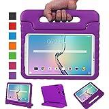 """NEWSTYLE Samsung Galaxy Tab E 9.6 pollici EVA Cover, custodia antiurto portatile per bambini con supporto per cellulare Tablet funzione leggio per Samsung Tab E SM-T560/SM-T561 9.6 """" Viola"""