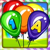 learning kids games - Balloon Pop Kids Learning Game