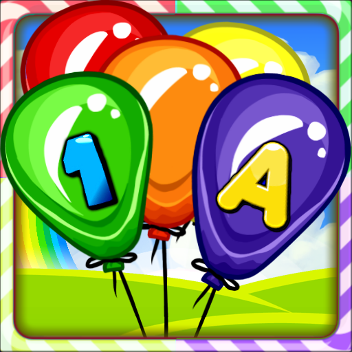 Balloon Pop Kids Learning Game