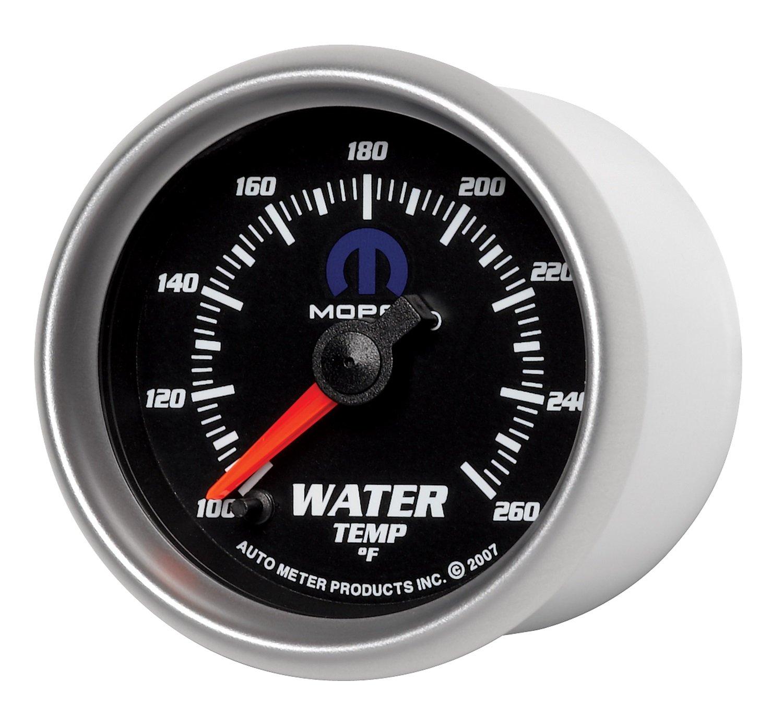 Auto Meter 880018 MOPAR Electric Water Temperature Gauge by Auto Meter (Image #2)
