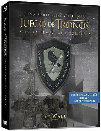 Juego De Tronos - Temporada 4 Edición Steelbook Blu-ray: Amazon.es ...