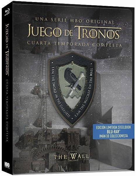 Juego De Tronos Temporada 4 Blu-Ray Steelbook Blu-ray: Amazon.es ...