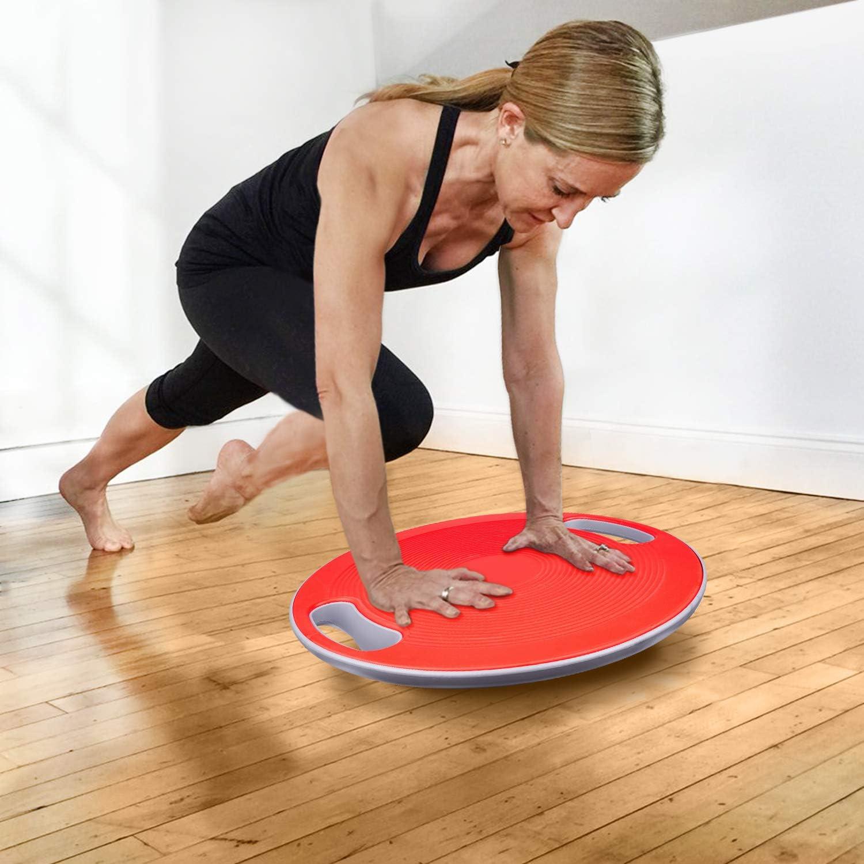 arteesol Balance Board Physiotherapie und Rehabilitation 40cm Durchmesser Geeignet f/ür das Training Gleichgewicht Koordination und Kraft Therapiekreisel Physiotherapie Wackelbrett Balance Board