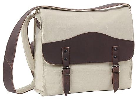 caff6a93c92 Amazon.com  Rothco Vintage Canvas   Leather Medic Bag - Khaki ...