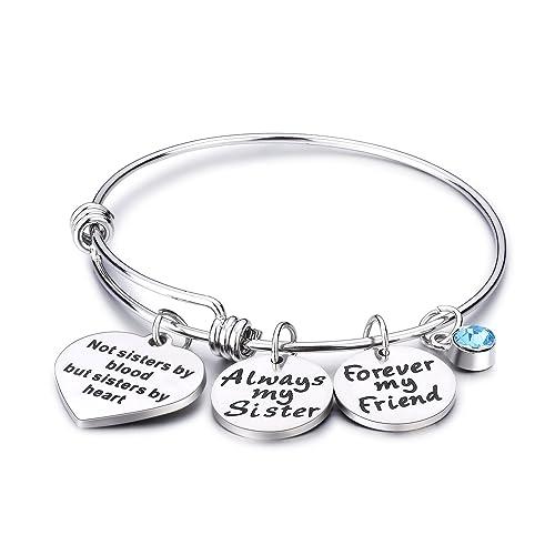 Amazon.com: udobuy2 Pcs Silver mejores amigos no importa ...