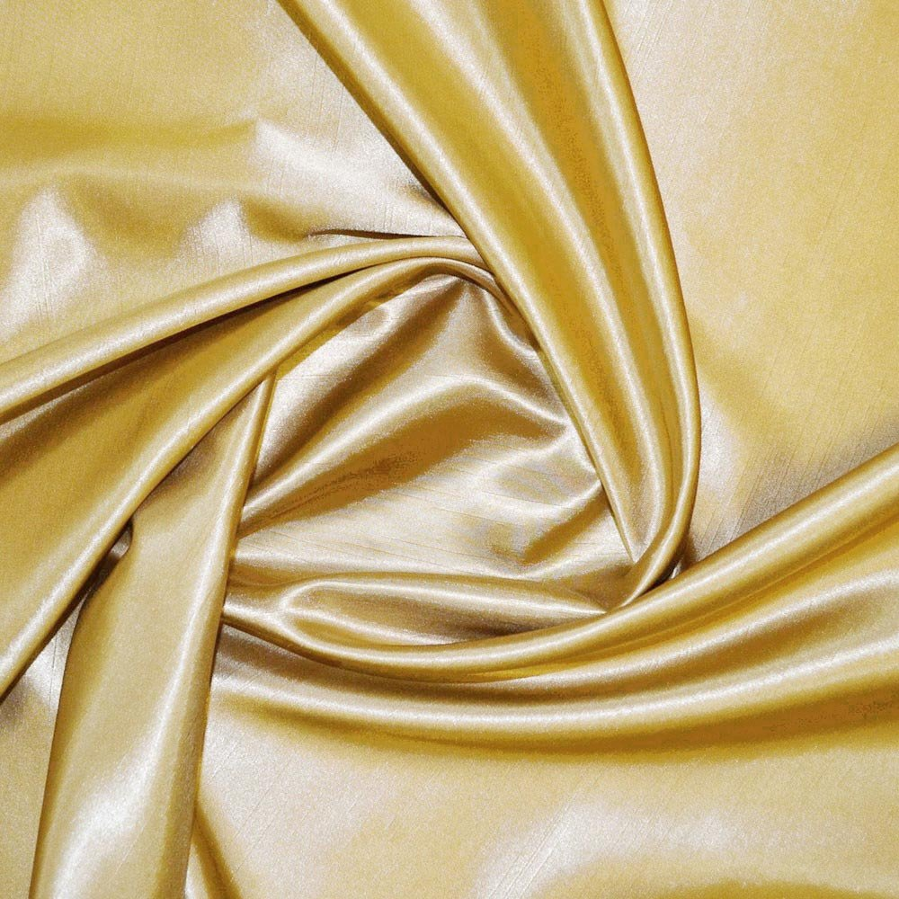 Lemon Satin Back Dupion Fabric SKU07275