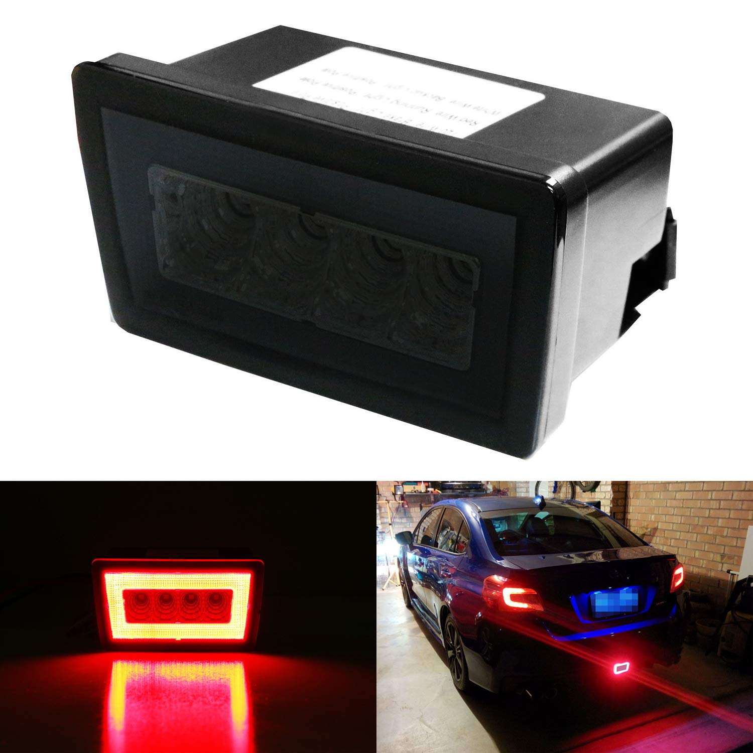 LED Tail Light Lamp Assembly LH RH Kit Pair Set of 2 for Jeep Compass SUV Truck