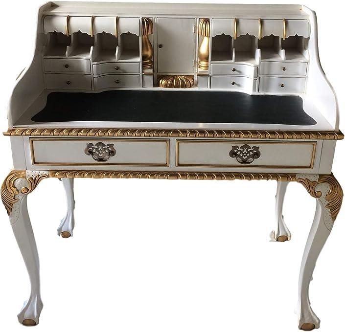 Antiguo Barroco Louis Seize Renaissance rococó Secreter Color ...