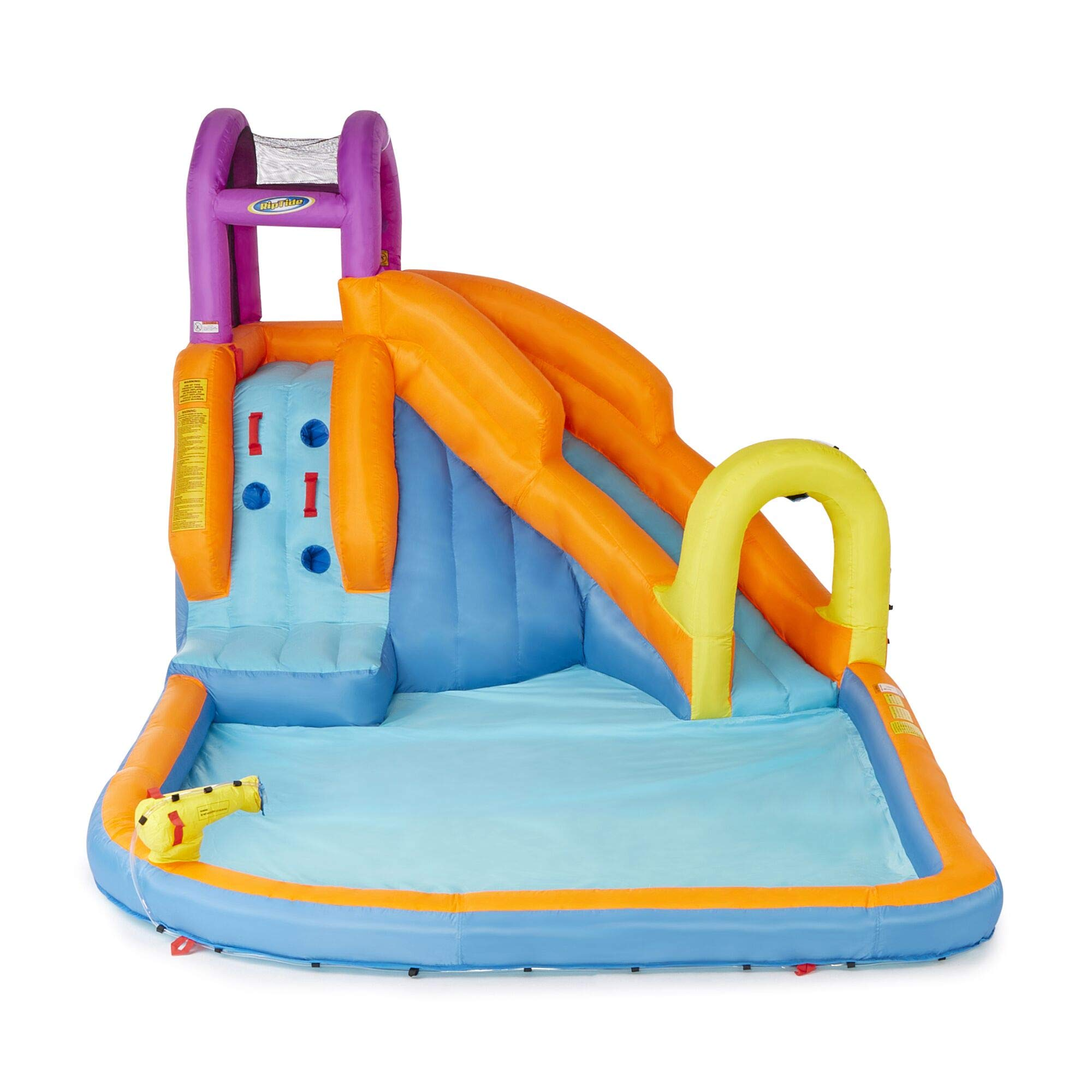 Magic Time Mega Tornado Twist Outdoor Inflatable Kids Water Park with Slide by Magic Time International (Image #1)