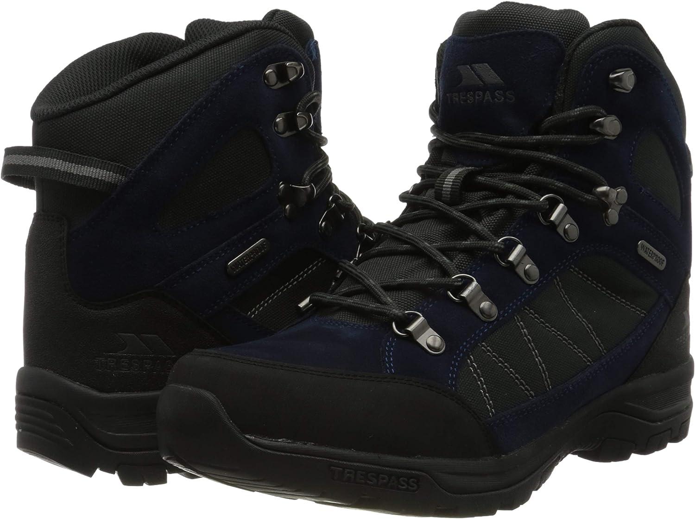 Navy Blue Trespass Mens Chavez Rock Climbing Shoe
