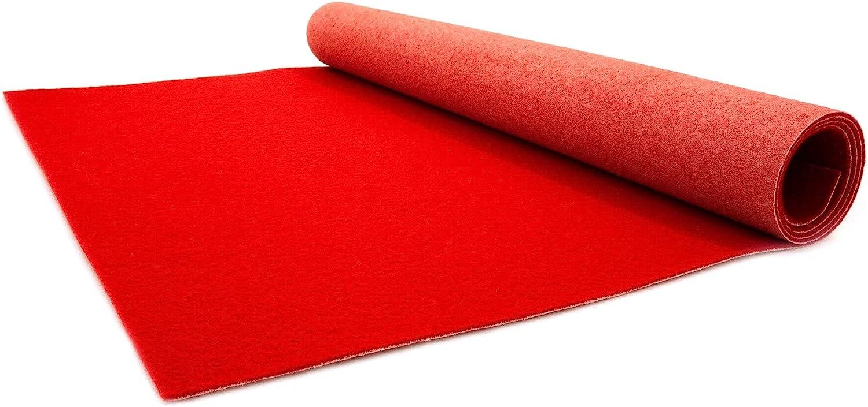 Ceremony Runner Primaflor VIP Event Carpet Rug 1.00m x 1.00m Wedding Aisle Runner Ideen in Textil White Carpet